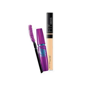 251ac4299b6 Maybelline New York Volum' Express Falsies Mascara - Very Black + Fit Me  Concealer -