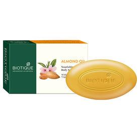 150g Biotique Bio Almond Oil Nourishing Body Soap pack Of 2