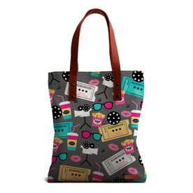 f2f4ee11b3a DailyObjects Retro Movies Tote Bag