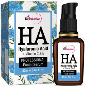 dc53fa53293 St.Botanica Hyaluronic Acid + Vitamin C, E Facial Serum
