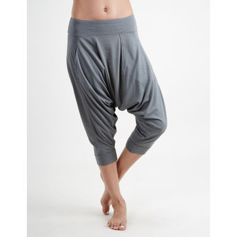 c021f40902 Proyog Women's Organic Yoga Dhoti Pants - Balsam Green at Nykaa.com