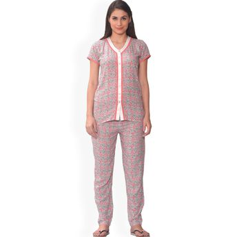 8ccf53f19267 Sweet Dreams Women's Half Sleeve Night Suit - Multi-Color at Nykaa.com
