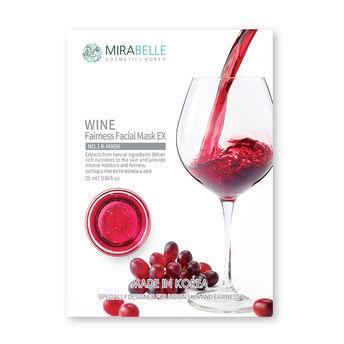 Mirabelle Wine Fairness Facial Mask EX(25ml)