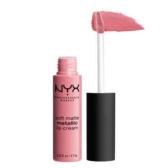 NYX Professional Makeup Soft Matte Metallic Lip Cream - Milan