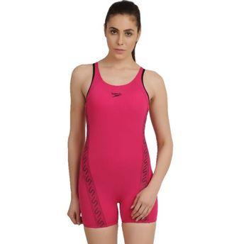 54582af22f Speedo Female Swimwear Monogram Legsuit - Pink at Nykaa.com