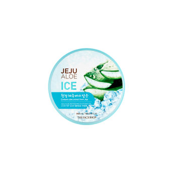 The Face Shop Fresh Jeju Aloe Refreshing Ice Gel At Nykaacom