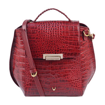 06056ac52cc3 Hidesign Red Alive 03 X Kalki Ladies Sling Bag