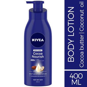 ccfa65a1921 Buy Nivea Cocoa Nourish Oil InLotion at Nykaa.com