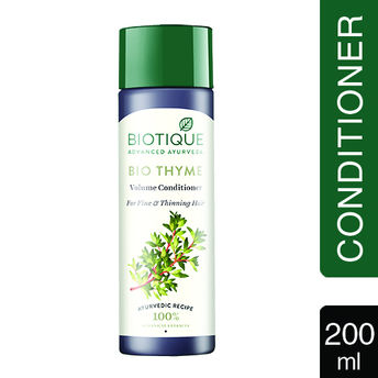 7dc88ed47847b Biotique Bio Thyme Volume Conditioner For Fine & Thinning Hair(200ml)