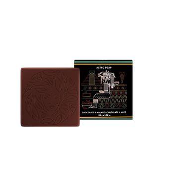 Global Beauty Secrets Aztec Chocolate & Walnut Soap(100gm)