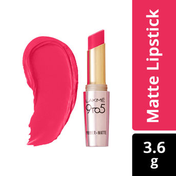 31083bb9051 Lakme 9 to 5 Primer + Matte Lip Color - MP17 Rosy Mind at Nykaa.com