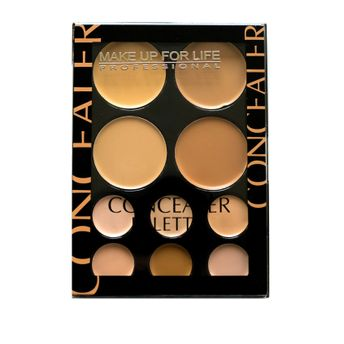 Make Up For Life 10 Color Concealer Palette(19gm)
