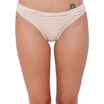 2bb36af75 Basiics by La Intimo Women s Naughty Brief Panty - Nude at Nykaa.com