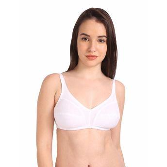 440568d2ca0 S.O.I.E Women s Non-Padded Non-Wired Cotton Full Coverage Bra ...