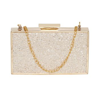 ab1f367dd ... Clutch With High Shimmer Silver Pattern. Wristwatch by Ted Baker London