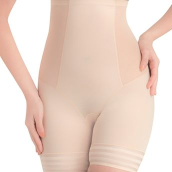 9ec94de6aea Swee Coral High Waist And Short Thigh Shaper For Women - Nude at ...