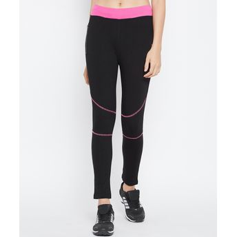 658b20fecee60 C9 Seamless Women's Solid Black Ankle Length Legging (XL) at Nykaa.com