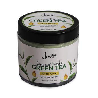 Jeva Japanese Matcha Green Tea Face Pack with Argan Oil(100gm)