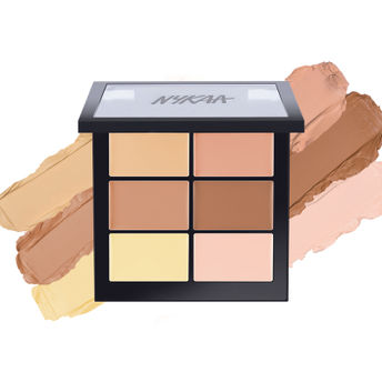 Eye Shadow Focallure Brand 3 Colors Blush & Highlighter Palette Highly Pigmented Face Matte Highlighter Powder Illuminated Blush With Brush Beauty & Health