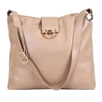 37b984bd8fe Lino Perros Beige Leatherette Handbag at Nykaa.com