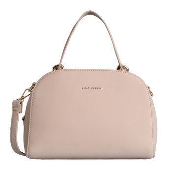 e9b4f78de7 Lino Perros Faux Leather Beige Handbag at Nykaa.com