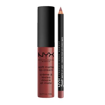 Nyx Professional Makeup Soft Matte Lip Cream Rome Suede Matte