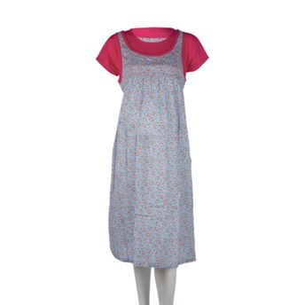 9105083d723c5 Buy Mee Mee Maternity Dress with Feeding Zipper - Light Pink at Nykaa.com