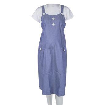 9d933580c4396 Buy Mee Mee Maternity Dress with Feeding Zipper - Grey at Nykaa.com