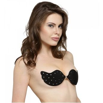 b2fc579dd59 ... Black Push Up Invisible Stick On Backless Strapless Bra. Wristwatch by  Ted Baker London
