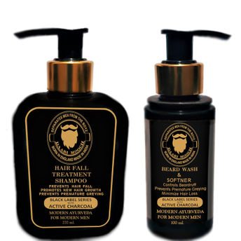 Daarimooch Shampoo & Beard Wash Combo(370ml)