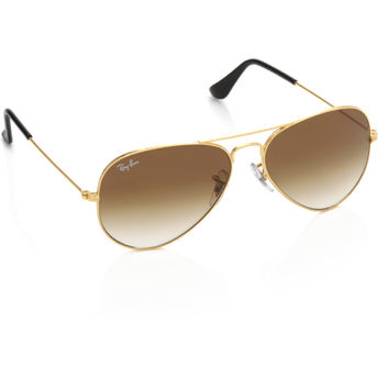 3e6c61880dd69 Ray-Ban Aviator Sunglasses - RB3025-001-51 at Nykaa.com