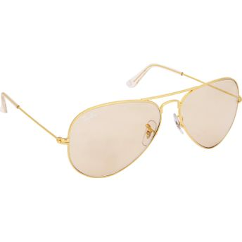 6e3f4442e8f64 Ray-Ban Brown Aviator Sunglasses - RB3025 L2928 at Nykaa.com