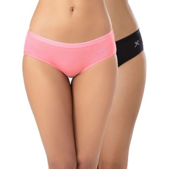 00aca15ce92 Anusha For PrettySecrets Cotton Texty Panty Pack of 2 - Multi-Color ...