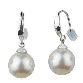 73d5f1dc1 Peora Simple Pearl Drop Earrings at Nykaa.com