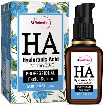 St Botanica Hyaluronic Acid + Vitamin C, E Facial Serum(20ml)