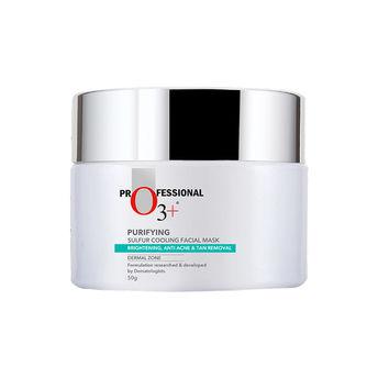 O3+ Purifying Sulfur Cooling Facial Mask Dermal Zone at Nykaa com