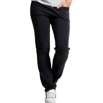 bbafde9306796b Jockey Black Melange Slim Fit Long Pant at Nykaa.com