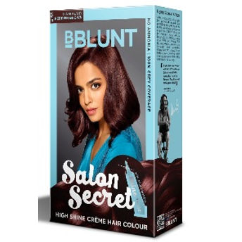 4494c9d67de BBLUNT Salon Secret High Shine Creme Hair Colour at Nykaa.com