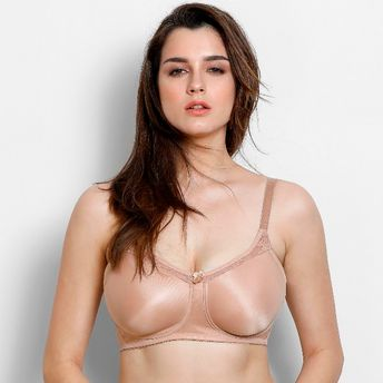 248276cfc73 Zivame True Curv Single Layered Minimiser Bra - Skin at Nykaa.com