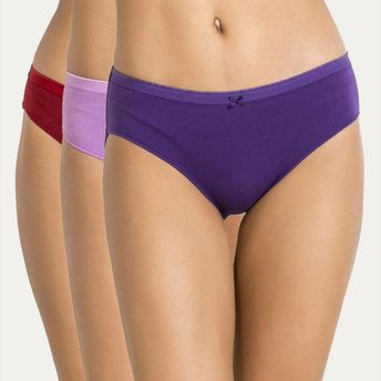 da1e35a55c31 Zivame Mid Rise Hipster Brief Pack Of 3 - Assorted at Nykaa.com