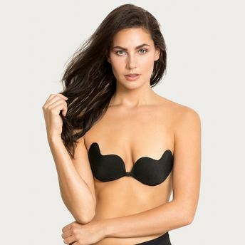 64774af7f93 Zivame Padded Stick On Bra - Black at Nykaa.com