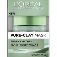 L&39;Oreal Paris Pure Clay Mask Purify & Mattify
