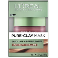 L&39;Oreal Paris Pure Clay Mask Exfoliate & Refine Pores
