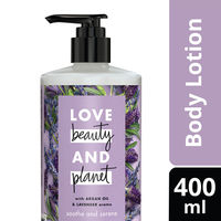 Love Beauty & Planet Argan Oil and Lavender Aroma Soothe and Serene Body Lotion