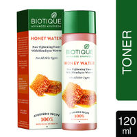 Biotique Bio Honey Water Pore Tightening Toner With Himalayan Waters
