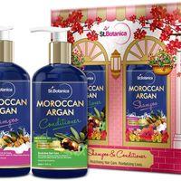 St.Botanica Moroccan Argan Hair Shampoo + Argan Hair Conditioner