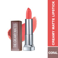 Maybelline New York Color Sensational Creamy Matte Lipstick - 635 Rock The Coral