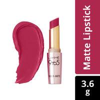 Lakme 9 to 5 Primer  Matte Lip Color - MR18 Maroon Mix