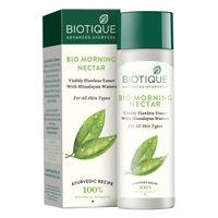 Biotique Bio Morning Nectar Visibly Flawless Toner with Himalayan Waters