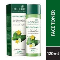 Biotique Bio Cucumber Pore Tightening Toner With Himalaya Waters